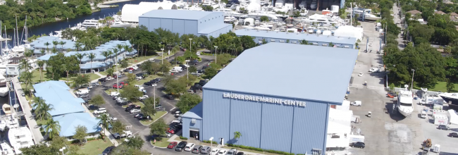 Livewire Connections USA Office in Lauderdale Marine Center