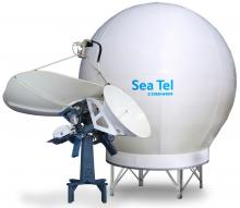 Sea Tel 9711 QOR VSAT Antenna