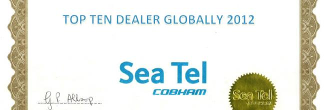 Sea Tel 2012 Dealer Award