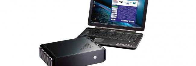 Access Controller FB-10 Pro and Laptop