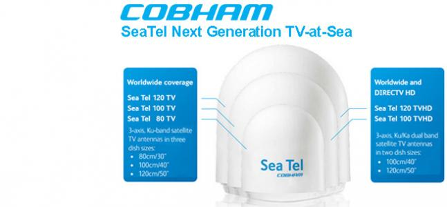 SeaTel Next Generation TVRO